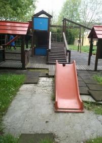 Abandono del parque de Altamira (Lezo)