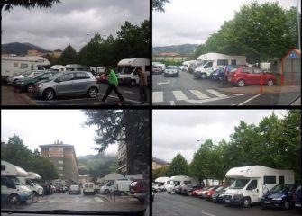 ¿aparcamiento para caravanas?