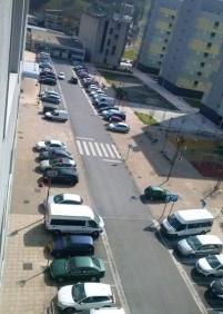 Aparcamientos calle Txaeta