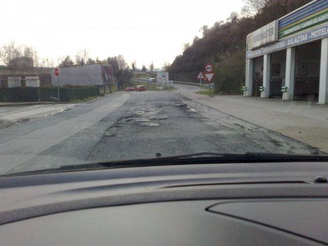 Tráfico en Oiartzun