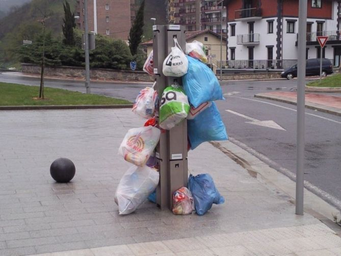 Residuos en Usurbil