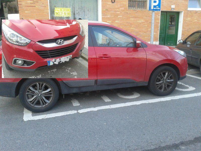 Donostia san sebasti n coches en parking motos de ibaeta for Parking de coches