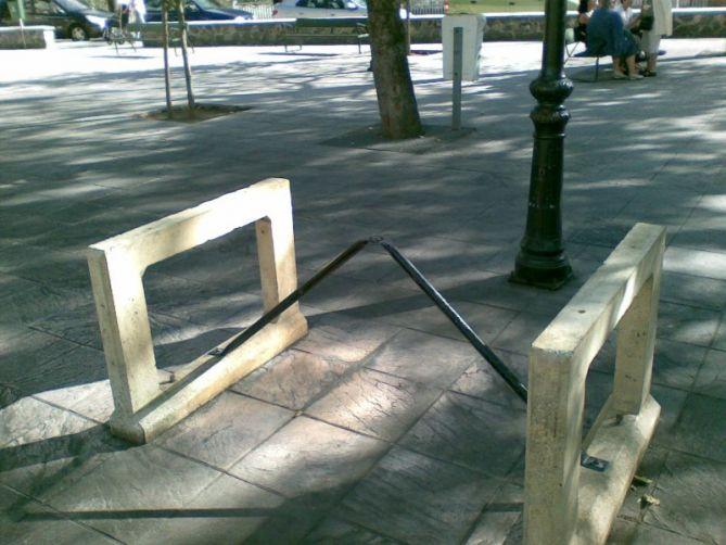 Mobiliario e infraestructuras en Arrasate-Mondragón