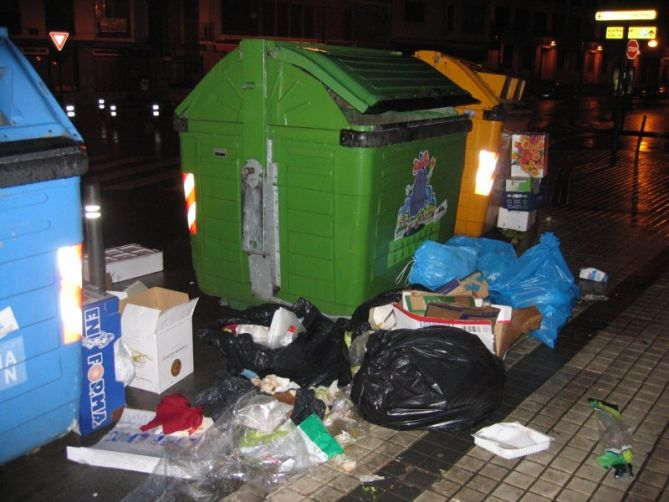 Residuos en Hondarribia