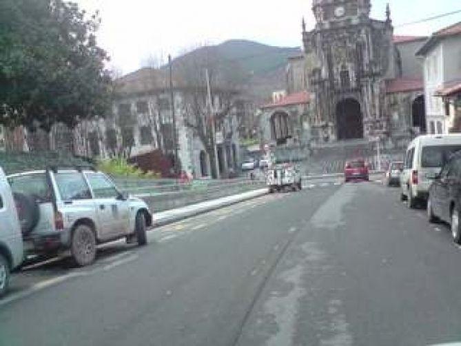 Tráfico en Andoain