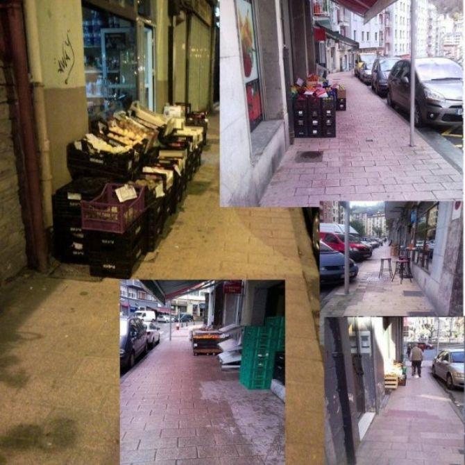 Mobiliario e infraestructuras en Eibar