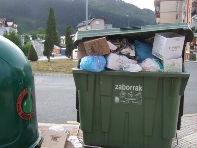 Residuos en Legazpi
