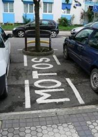 ¿¿¿¿¿Parking para motos????