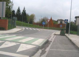 paso de peatones inacabado