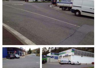 Pasos de Cebra camino Carrefour