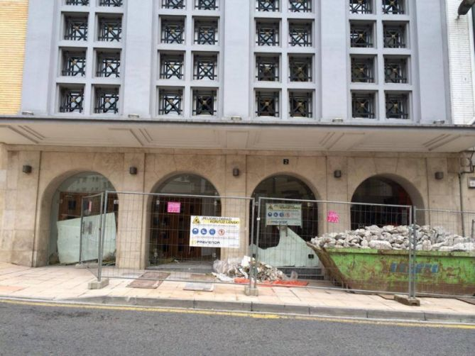 Obras en Eibar