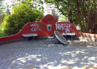 Vandalismo en Lasarte-Oria