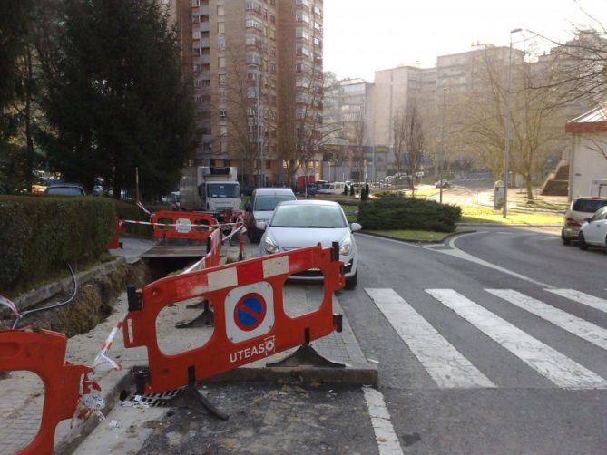 Obras en Donostia-San Sebastián