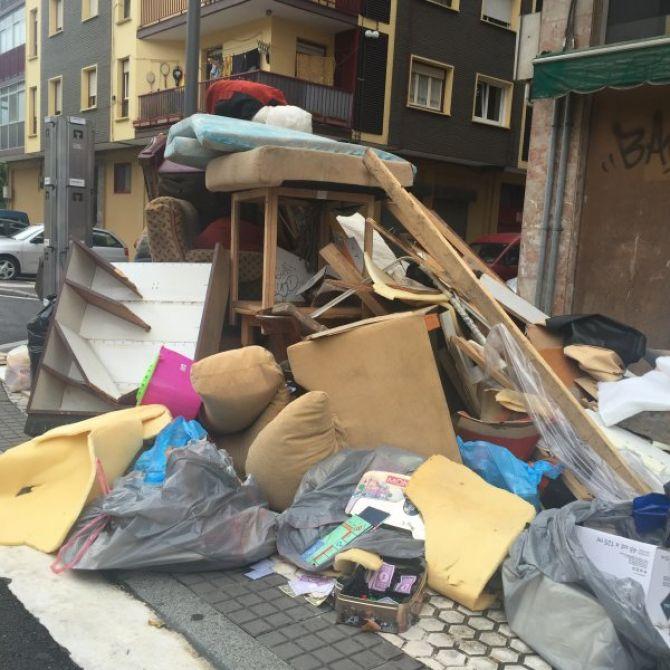 Residuos en Hernani