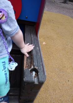 Parque infantil de gabierrota