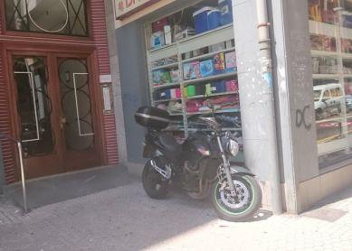 El plumero de las motos