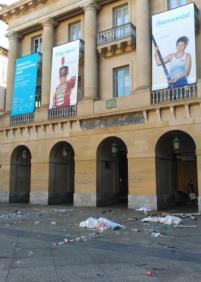 Plaza Constitución en todo su esplenfor