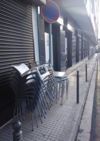 Las aceras son para los peatones
