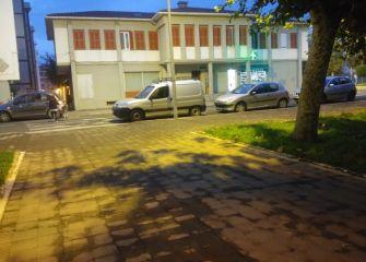 Mal estacionado en Zarautz