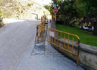 Obras en la calle Aizkorri