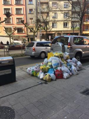 Residuos en Eibar