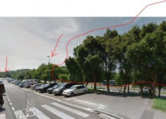 4 farolas que no encienden, C/ Extremadura 13 hasta la calle Castilla 18