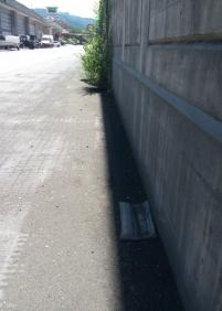 Se necesita una limpieza peatonal