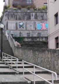 Grafitis en el Antiguo