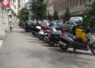 Problema con las motos en Donostia