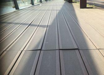 Nefasto suelo en el puente de hierro