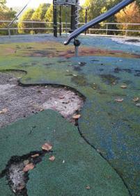 Parque de Alza abandonado