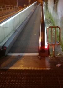 Escaleras mecánicas Intxaurrondo