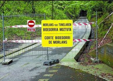 Bidegorri Morlans sin abrir hoy a las 07:10, 19 de Julio