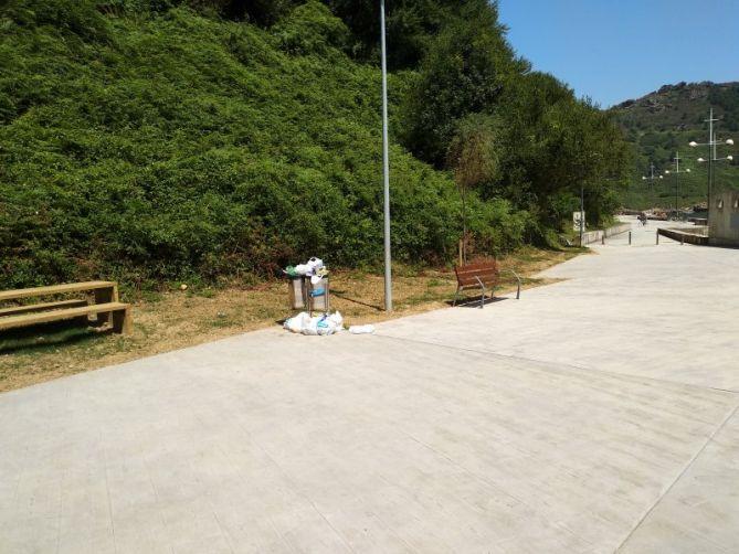 Mobiliario e infraestructuras en Pasaia