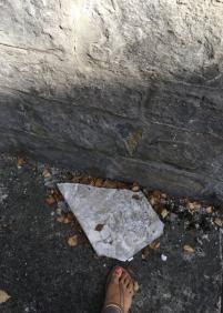 Losetas de pared en el suelo