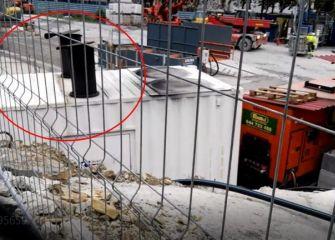 Emisiones contaminantes obras metro Morlans