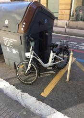 Uso vergonzoso de las bicis del ayuntamiento