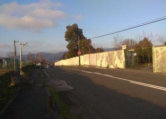 Acceso a cementerio de Errenteria