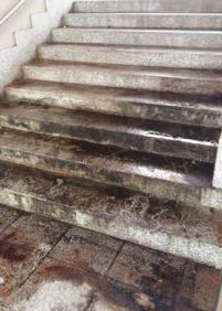 Escaleras peligrosas