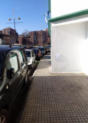 Movilidad en la calle aurranlari en Pasajes San Pedro