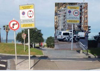 Prohibiciones a vehículos de más de 1,9 metros de altura
