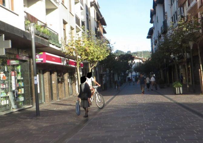 Tráfico en Hondarribia