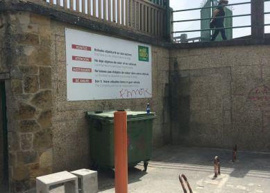 Reciclaje en el Parque de Atracciones de Igeldo